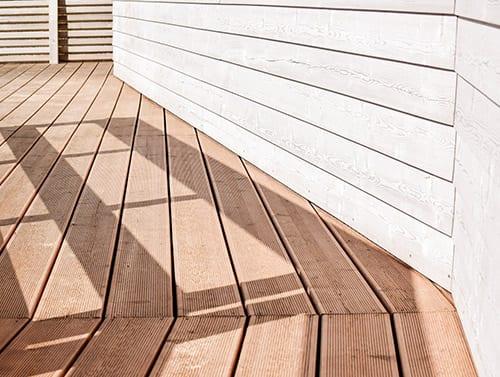 deck and siding maintenance